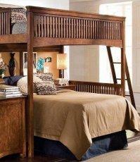 Двухъярусная кровать Justwood Хоттабыч - 100х190см