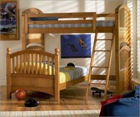 Двухъярусная кровать Justwood Маугли