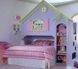 Двухъярусная кровать Justwood Замок