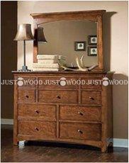 Комод с зеркалом Justwood Хоттабыч