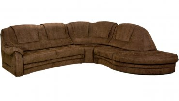 Угловой диван Бристоль с отоманкой 140см
