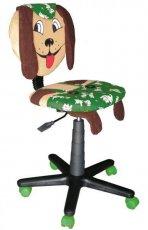 Кресло детское Собачка со стопками