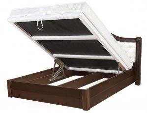 Кровать Екатерина - длина 190 или 200xширина 160см c механизмом