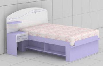 Кровать L-20,21 Гламур