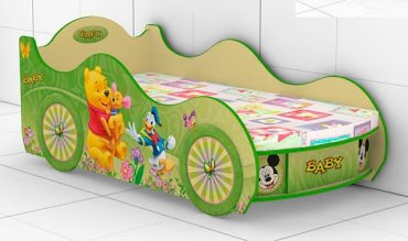 Кровать-машинка Baby-KM-280 Беби