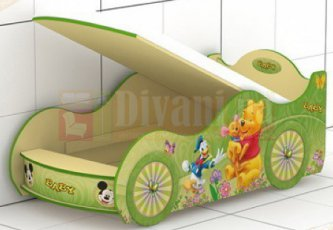 Кровать-машинка Baby-KM-420-1-4 Беби