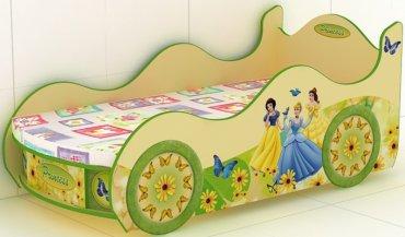 Кровать-машинка Princes-KM-380 Принцесса