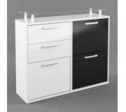 Шкаф SBUT3D2S-SLW/BIP-KPL01 Ari