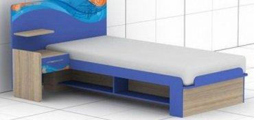 Кровать L-14,15 Индиго