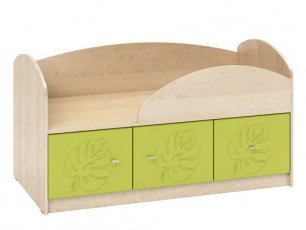 Кровать с объемным узором МДМ-1 Маугли 3D