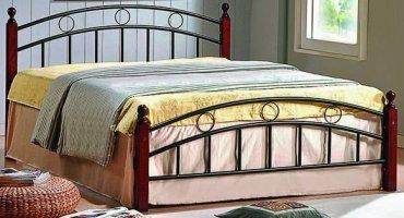 Кровать кованая UF-9001 160 x 200 Green Line