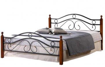 Кровать кованая UF-9027 160 x 200 Green Line