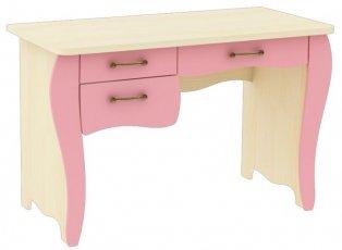 Письменный стол фигурный + 3 ящика Прованс