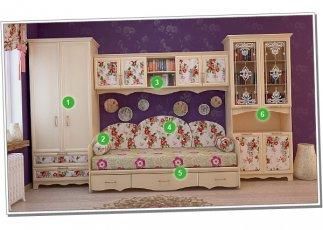 Детская спальня №2 Прованс