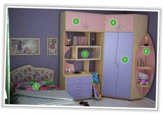 Детская спальня №2 Планета Луна