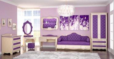Детская спальня Гламур