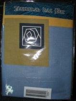 Комплект постельного белья, двухспальный - бязь отбеленная