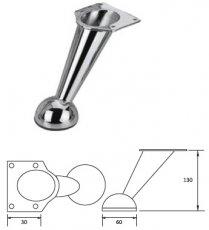Опора металлическая NZ-1806 хром