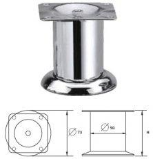 Опора металлическая MZ-1414 хром