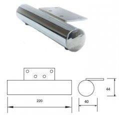 Опора металлическая MZ-2122 хром