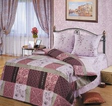 Полуторный комплект постельного белья Альпия