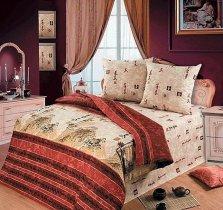 Полуторный комплект постельного белья Тайшань
