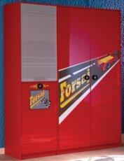 Гардероб 3-х дверный Форсаж