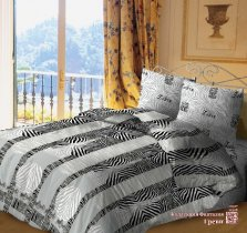 Евро комплект постельного белья Греви
