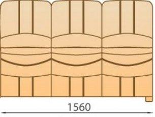 Модуль 3Р140сф для модульного диван а Манхетен