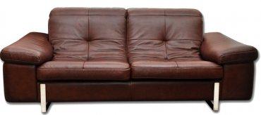Кожаный диван Моррис