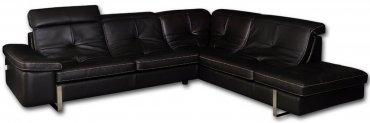 Кожаный модульный диван Моррис