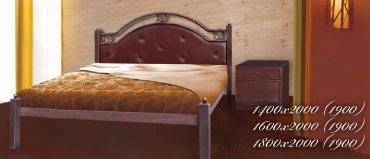 Кровать Эсмеральда дерево - 140х190-200см