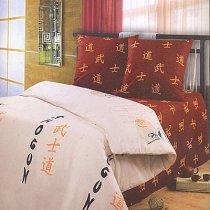 Полуторный комплект постельного белья Самурай