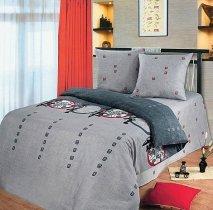 Полуторный комплект постельного белья Тайко
