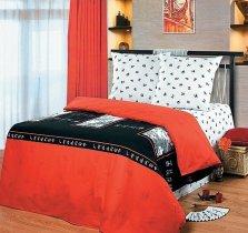 Полуторный комплект постельного белья Шаолинь