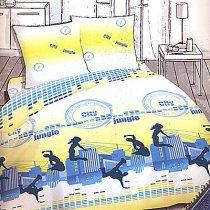 Двухспальный комплект постельного белья Сити