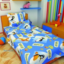 Детский полуторный комплект постельного белья Лови волну