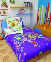 Детский полуторный комплект постельного белья Сказка