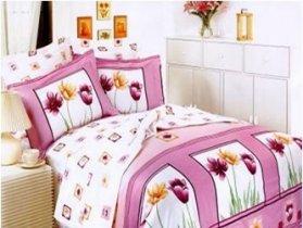 Двухспальный комплект постельного белья Сoleen -К001-Подих весни