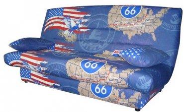 Диван Комфосон Арго - ткань Америка синяя