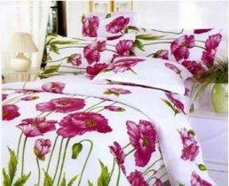 Двухспальный комплект постельного белья Сoleen -006-Мак