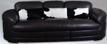 Кожаный модульный диван Тироло