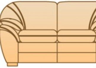 Модуль Б-2С104 к дивану Джессика