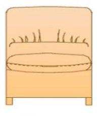 Модуль 1С59 для кожаного дивана Калифорния