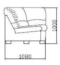 Модуль УР108 к диван у Калифорния