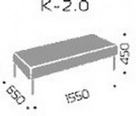 Модуль диван а Квадро 2.0