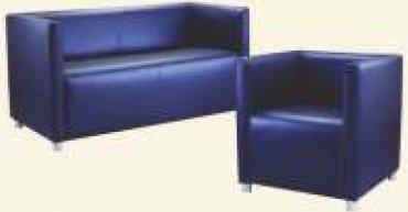 Кожаный диван 2 Бридж