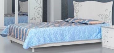 Кровать 2-сп (без матраса. ламель) Фелиция