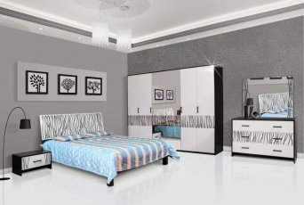 Модульная спальня Бася Нейла с 3-х, 4-х, 6-ти дверным шкафом