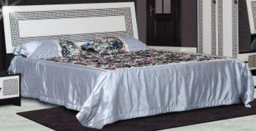 Кровать 2-сп (без матраса. ламель) Бася Олимпия